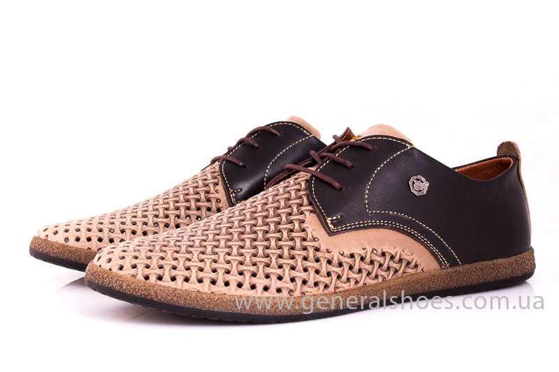 Мужские туфли из нубука GS E2 P Shanghai brb. фото 6