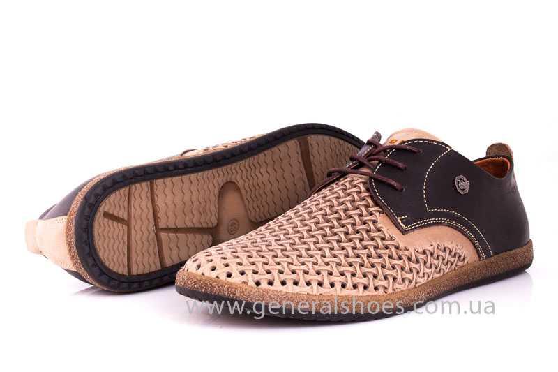 Мужские туфли из нубука GS E2 P Shanghai brb. фото 8