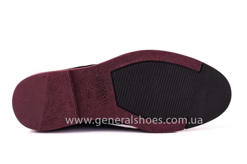 Мужские замшевые туфли E 1 Z Vebster фото 8