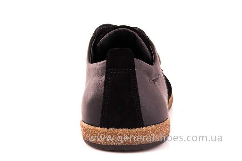Мужские замшевые туфли E 2 TZ blk. фото 4