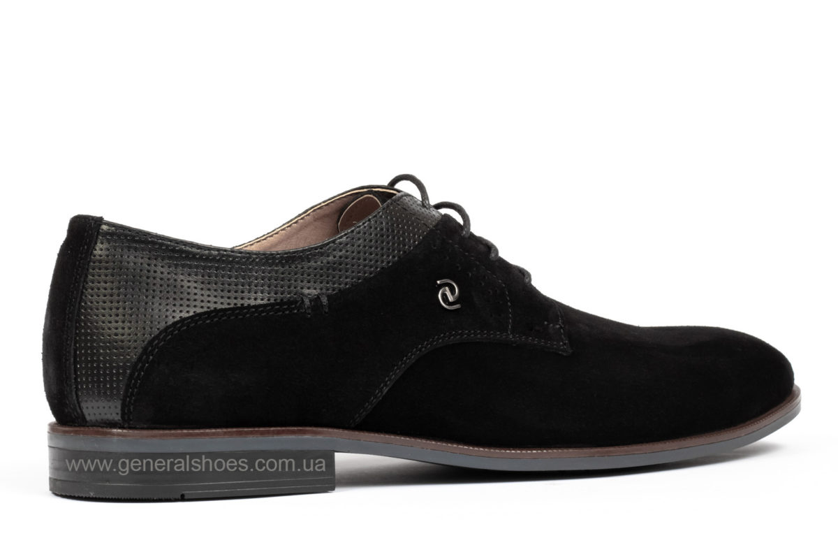 Мужские замшевые туфли Ed-Ge Boston blk.z. фото 2