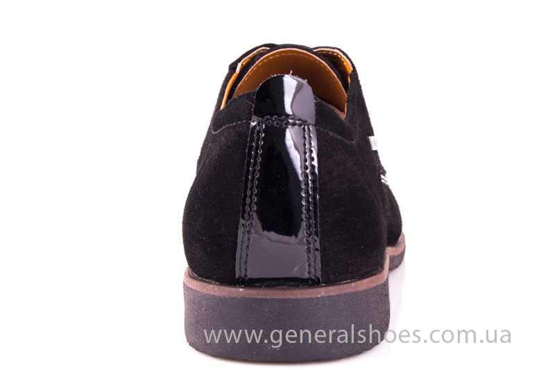 Мужские замшевые туфли Ed-Ge Titan blk.z. фото 4