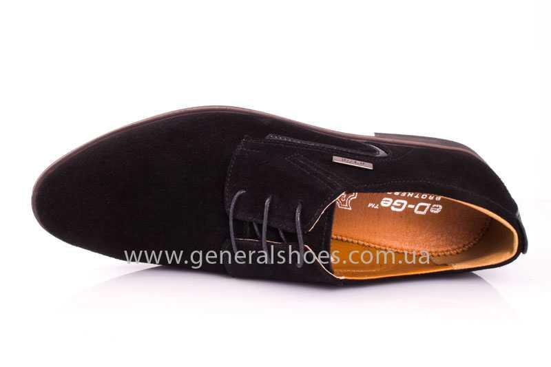 Мужские замшевые туфли Ed-Ge Titan blk.z. фото 6