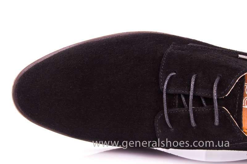 Мужские замшевые туфли Ed-Ge Titan blk.z. фото 7