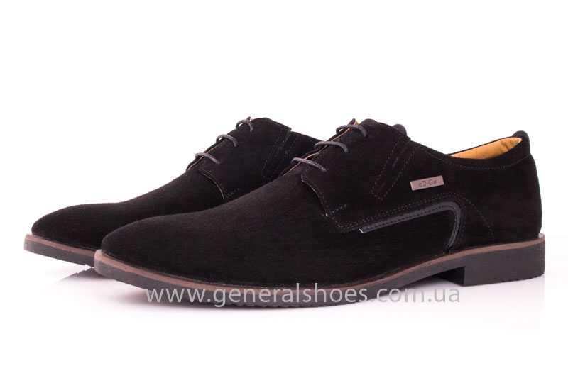 Мужские замшевые туфли Ed-Ge Titan blk.z. фото 8