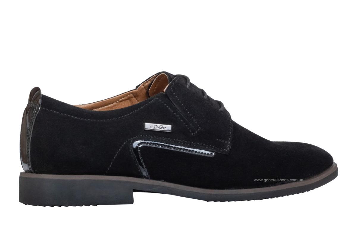Мужские замшевые туфли Ed-Ge Titan blk.z фото 2