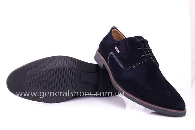 Мужские замшевые туфли Ed-Ge Titan blue фото 8