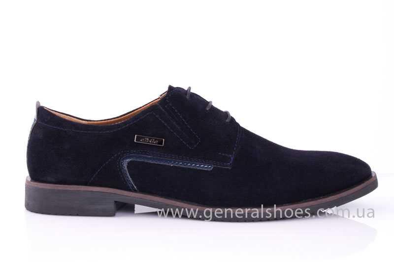 Мужские замшевые туфли Ed-Ge Titan blue фото 2