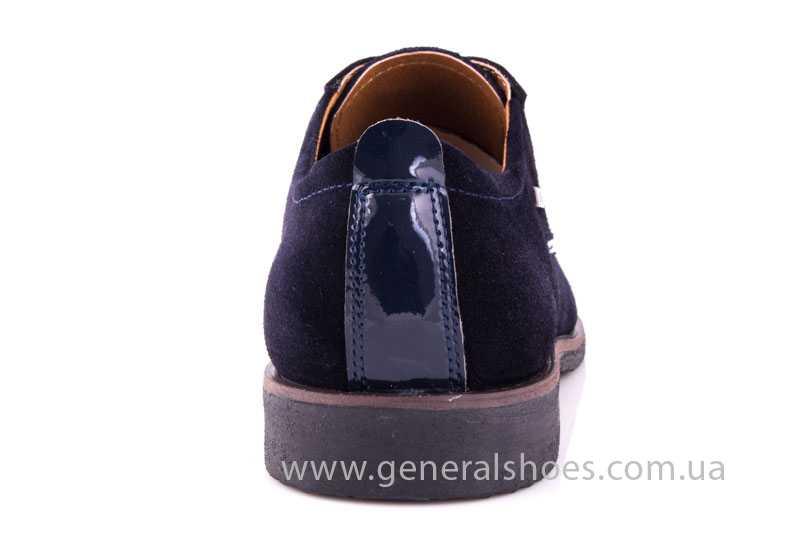 Мужские замшевые туфли Ed-Ge Titan blue фото 3