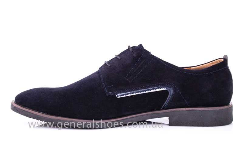 Мужские замшевые туфли Ed-Ge Titan blue фото 4