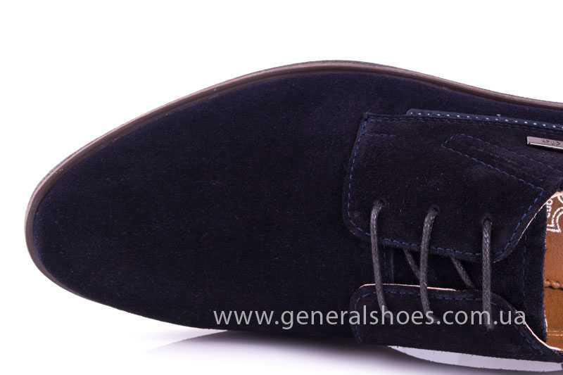 Мужские замшевые туфли Ed-Ge Titan blue фото 5