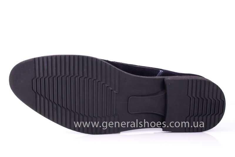 Мужские замшевые туфли Ed-Ge Titan blue фото 9