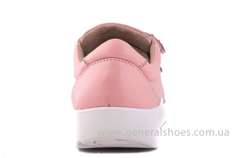 Женские кожаные кроссовки 3L pink фото 8
