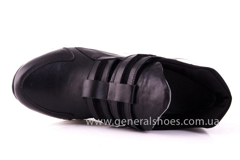 Женские кожаные кроссовки C2 blk фото 4