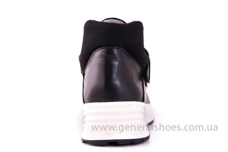 Женские кожаные кроссовки C2 blk фото 9