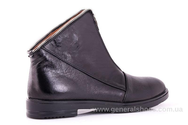 Женские кожаные полуботинки 2029 Р черный. фото 3