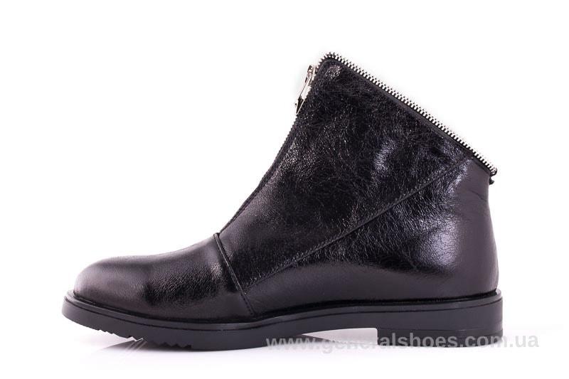 Женские кожаные полуботинки 2029 Р черный. фото 5