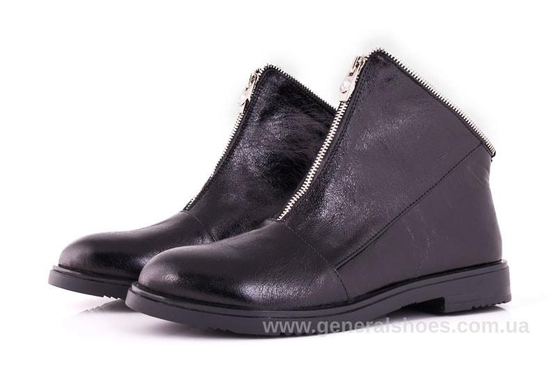 Женские кожаные полуботинки 2029 Р черный. фото 6