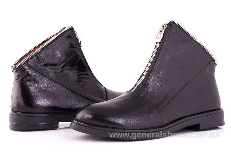 Женские кожаные полуботинки 2029 Р черный. фото 7