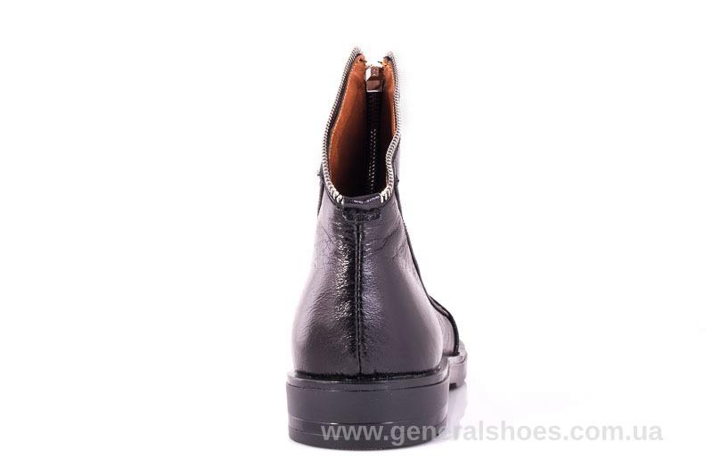 Женские кожаные полуботинки 2029 Р черный. фото 9