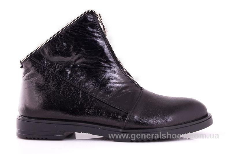 Женские кожаные полуботинки 2029 Р черный. фото 2