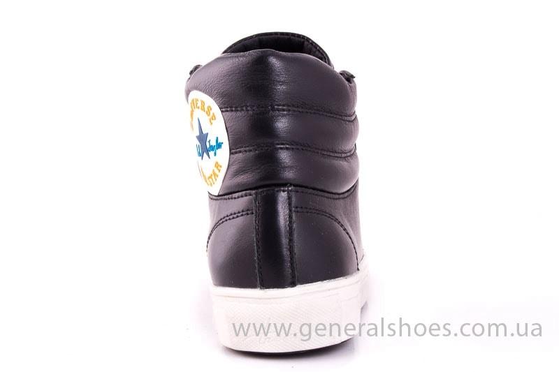 Женские кожаные полуботинки All star blk фото 7