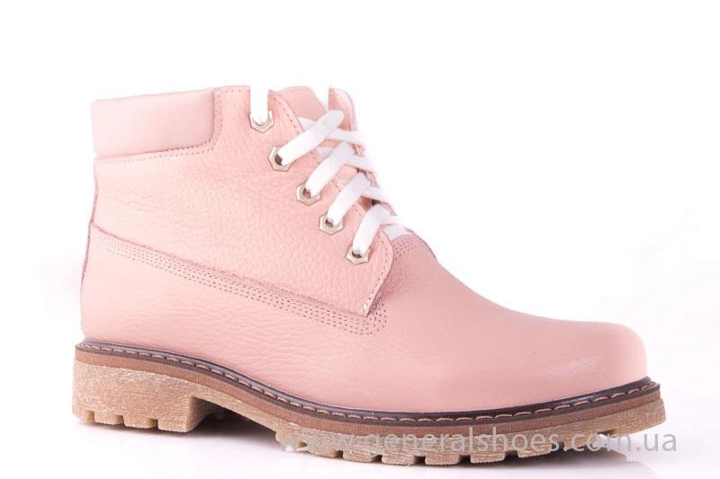 Женские кожаные полуботинки Pink фото 1