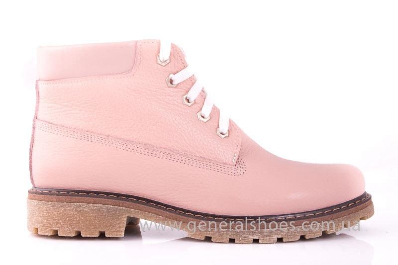 Женские кожаные полуботинки Pink фото 2