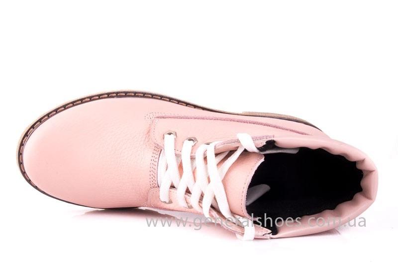 Женские кожаные полуботинки Pink фото 4