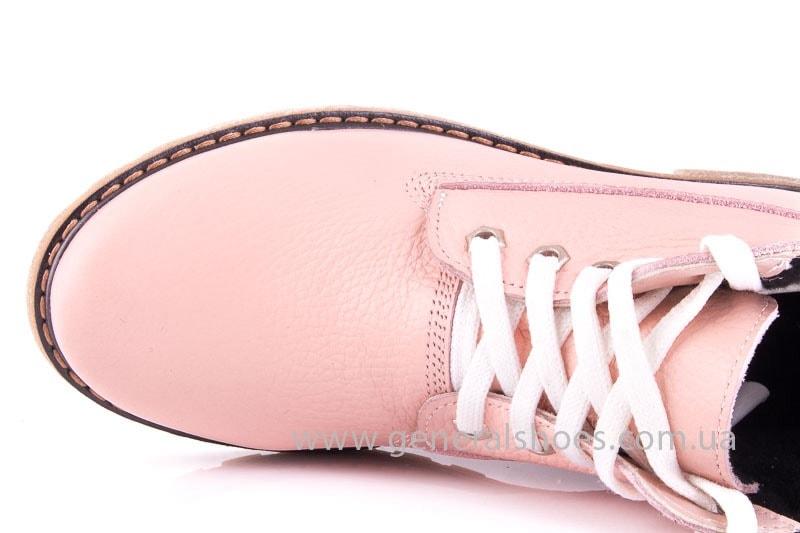 Женские кожаные полуботинки Pink фото 5