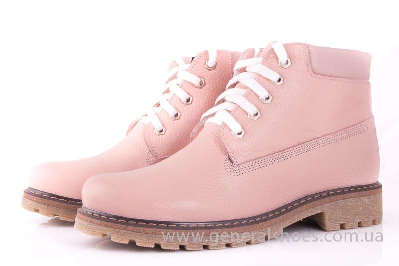 Женские кожаные полуботинки Pink фото 6