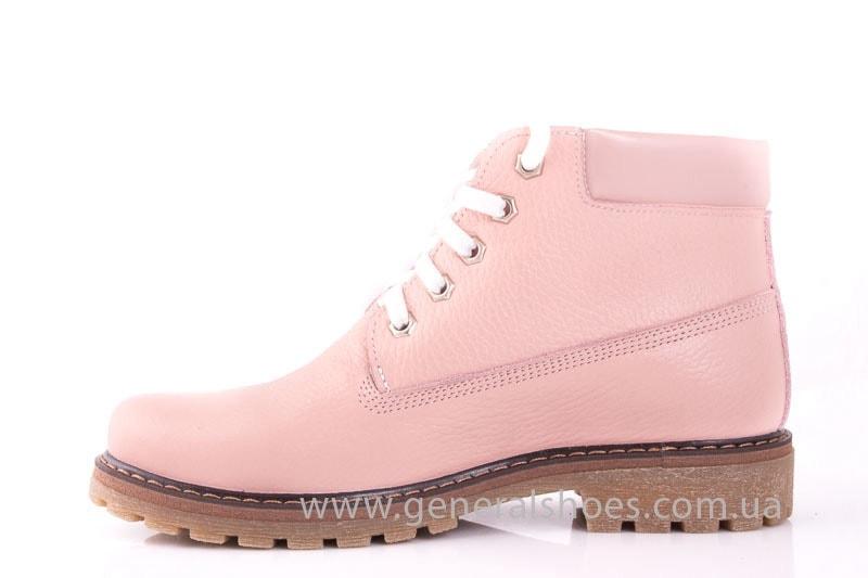 Женские кожаные полуботинки Pink фото 8