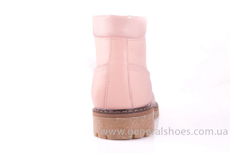 Женские кожаные полуботинки Pink фото 9