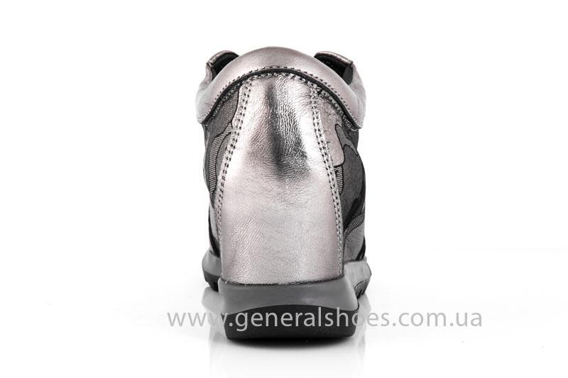 Женские кожаные сникерсы KM 4 фото 4