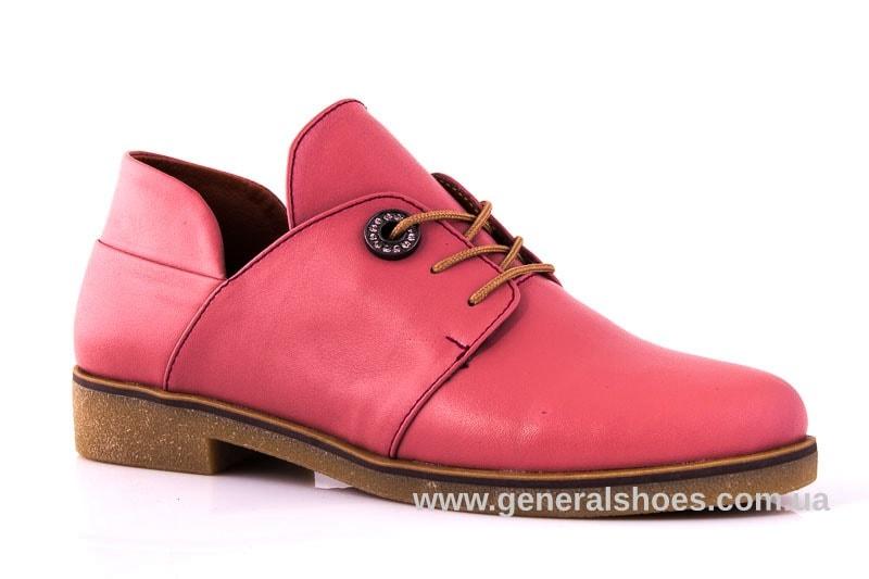 Женские кожаные туфли 6102 L паприка фото 1
