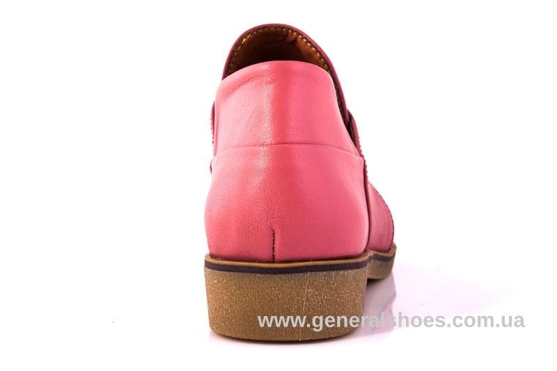 Женские кожаные туфли 6102 L паприка фото 10