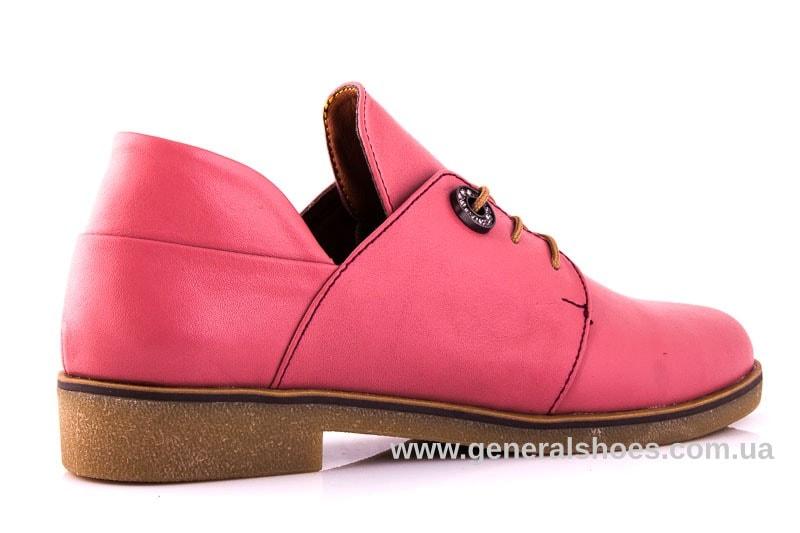 Женские кожаные туфли 6102 L паприка фото 3