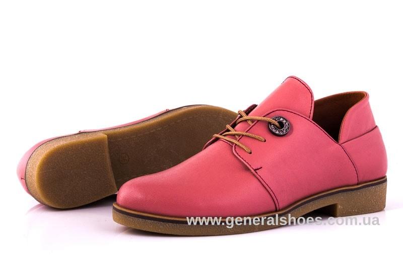 Женские кожаные туфли 6102 L паприка фото 9
