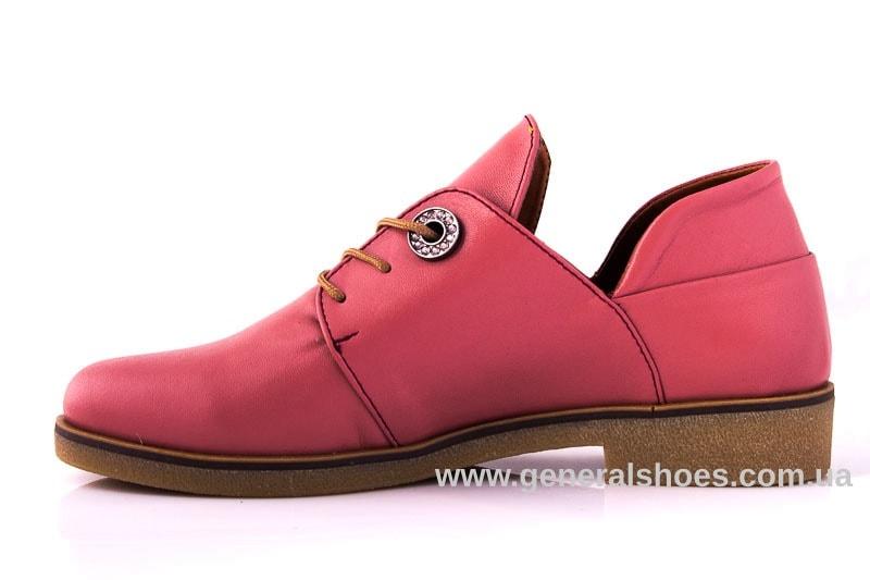 Женские кожаные туфли 6102 L паприка фото 7