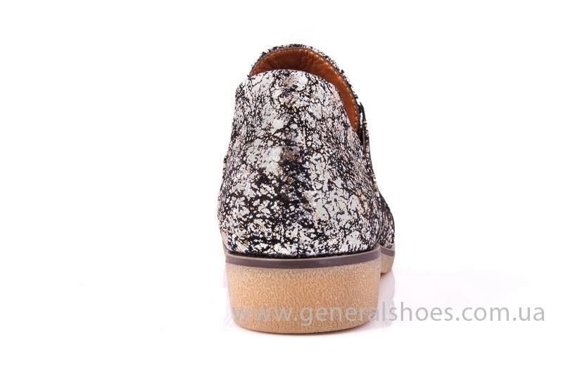 Женские кожаные туфли 6102 С бронза фото 9