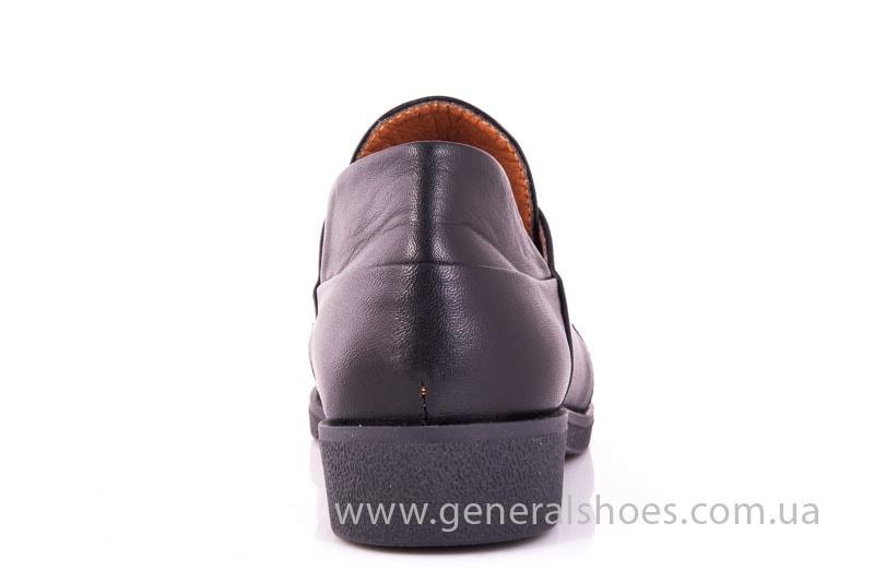 Женские кожаные туфли 6102 С черный фото 9