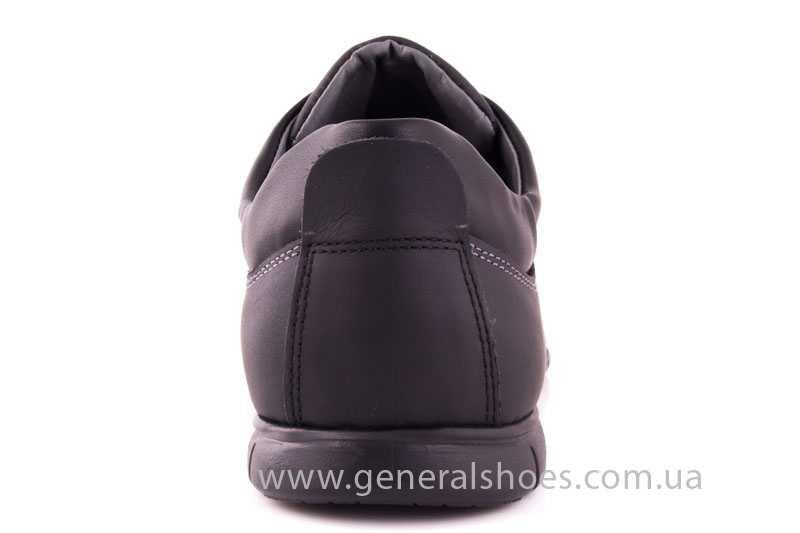 Мужские кожаные кроссовки 61 blk Seattle фото 4