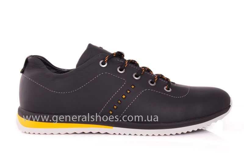 Мужские кожаные кроссовки GS 10 blk Cayman фото 2