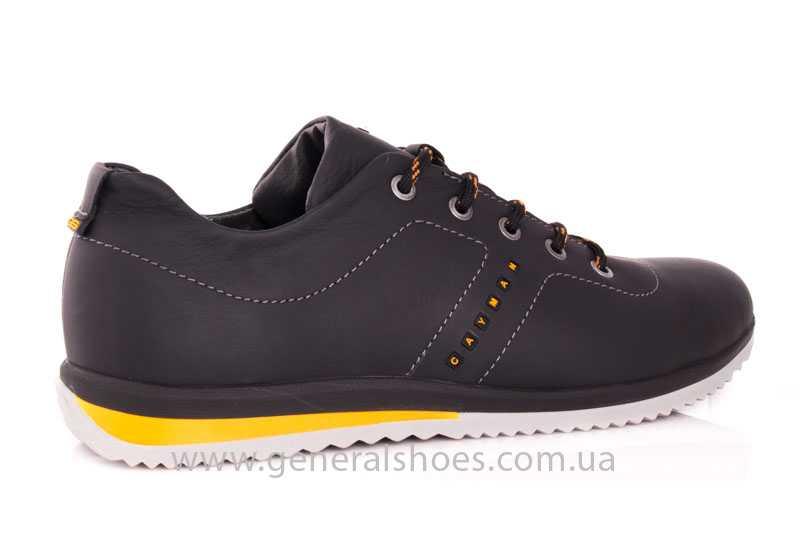 Мужские кожаные кроссовки GS 10 blk Cayman фото 3