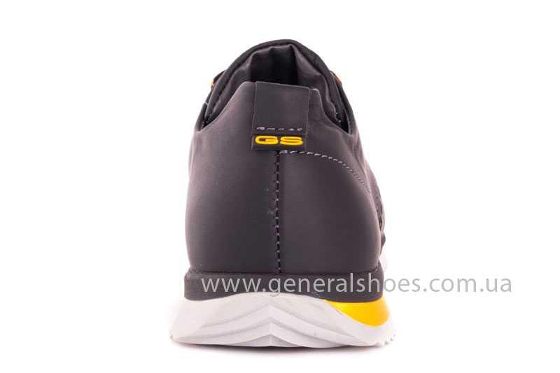 Мужские кожаные кроссовки GS 10 blk Cayman фото 4