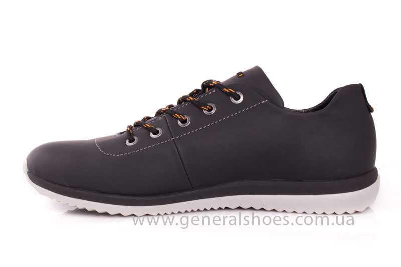 Мужские кожаные кроссовки GS 10 blk Cayman фото 5