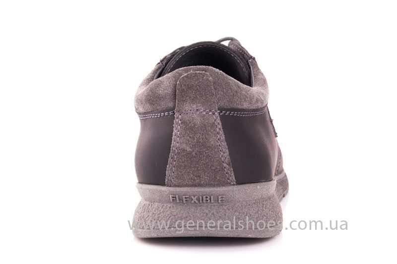 Мужские кожаные кроссовки GS RR blk V фото 4
