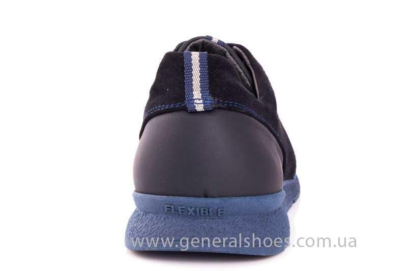 Мужские кожаные кроссовки GS RR blue фото 4