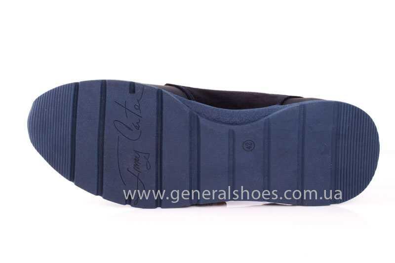 Мужские кожаные кроссовки GS RR blue фото 8