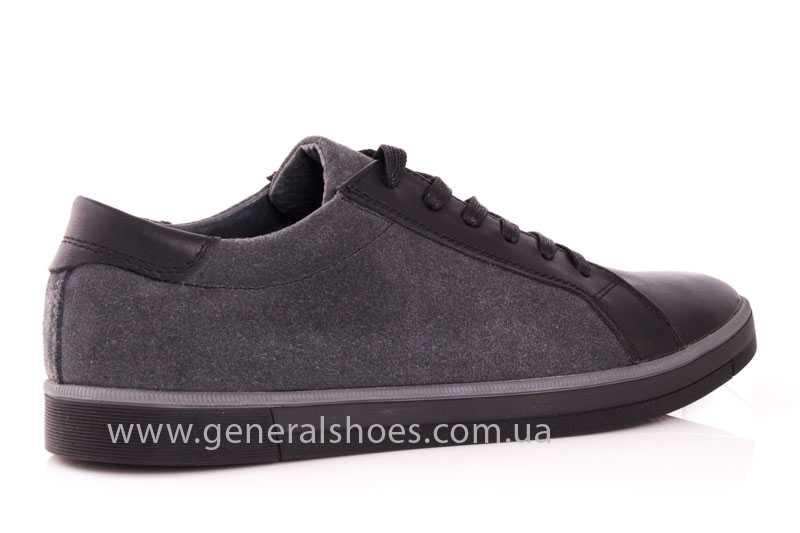 Мужские кожаные туфли GS 84 blk GRZ фото 3